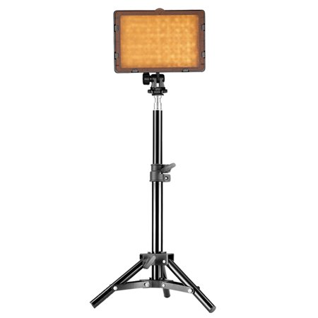 Neewer Photography 160 LED Studio Lighting Kit, Includes CN-160 Dimmable Ultra High Power Panel Digital Camera DSLR Camcorder LED Video Light, 32 inches/80 centimeters Adjustable Light Stand Dimmable Studio Light Kit