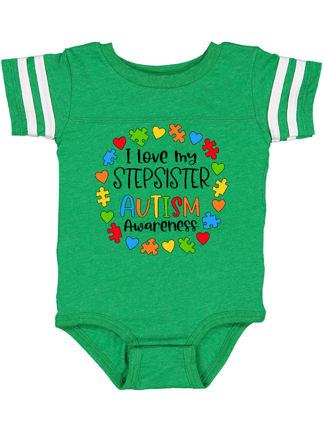 inktastic Autism Awareness Girl Infant Creeper
