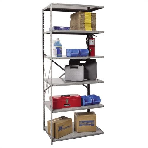 Hallowell Hi-Tech Open Type Adder 5 Shelf Shelving Unit