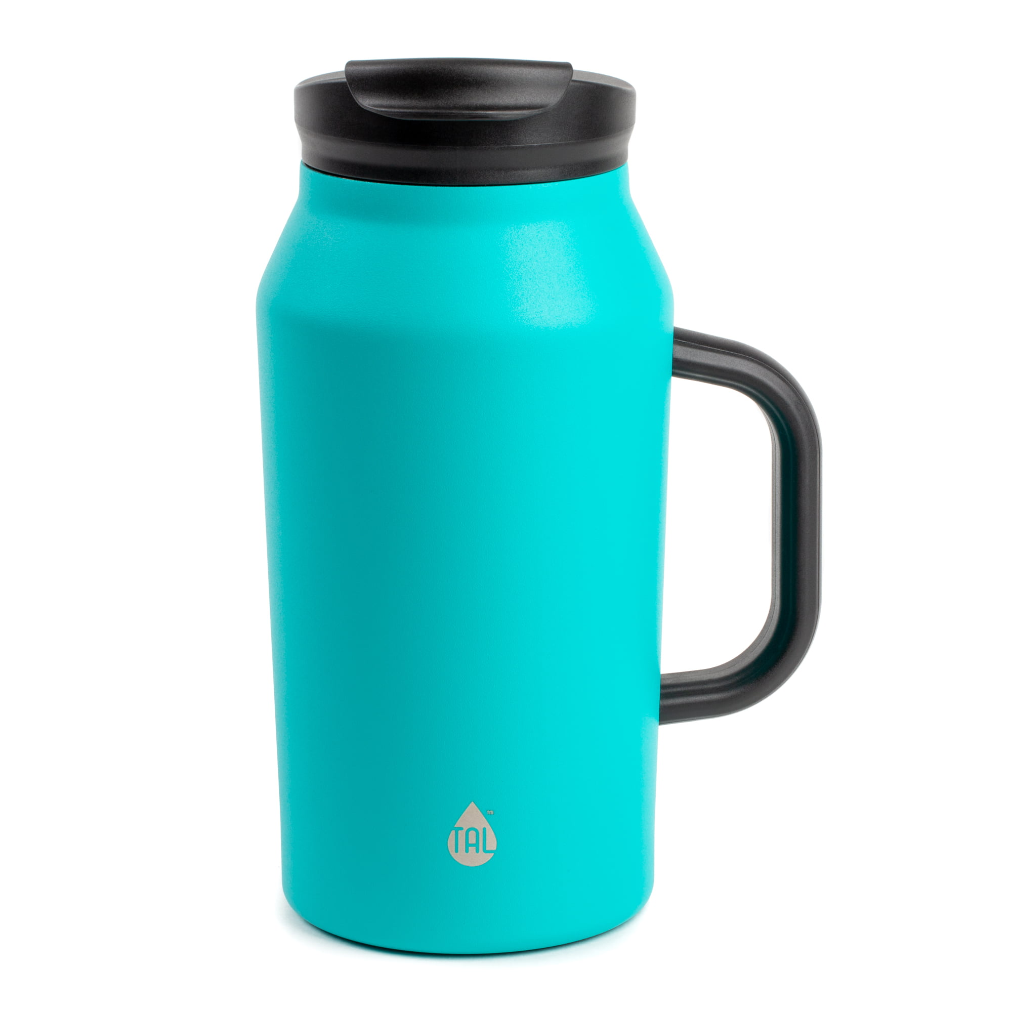 Tal 40 Ounce Stainless Steel Basin Teal Water Bottle