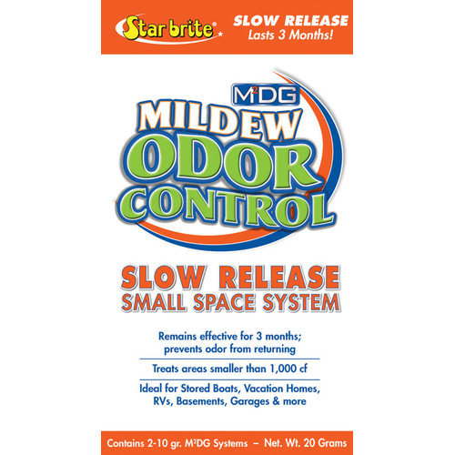 Star Brite M2DG Small Area Slow Release Mildew Odor Control