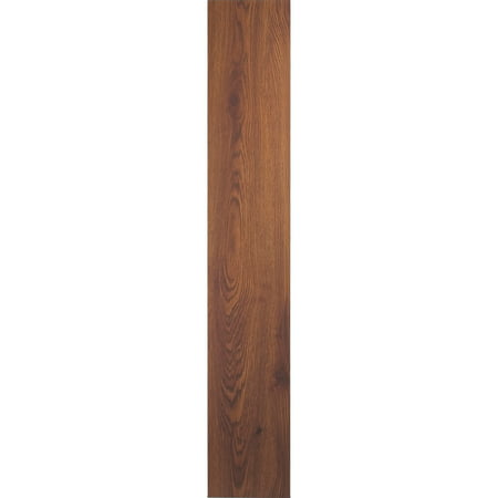 Tivoli II 6x36 Self Adhesive Vinyl Floor Planks 10 Planks/15 sq. (Walnut Laminate Flooring)