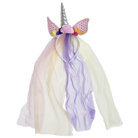 Unicorn Headpiece Floral Halloween Costume - Halloween Headpiece