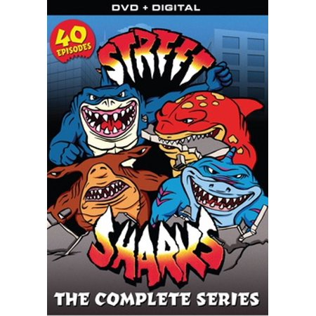 Street Sharks: The Complete Series (DVD)