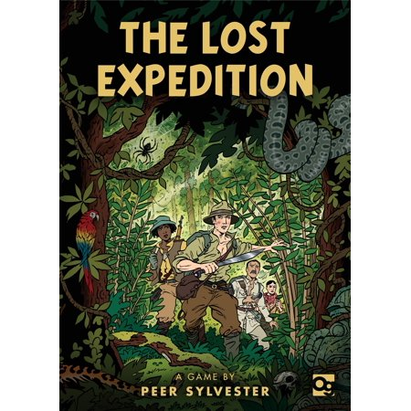 The Lost Expedition : A game of survival in the Amazon