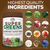 Country farms super greens drink mix, chocolate, 10.6 oz., 20 servings (packaging may vary)