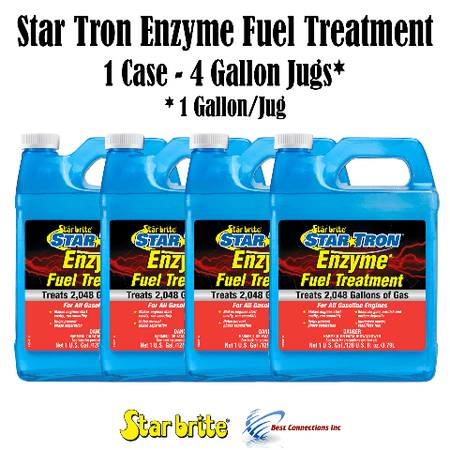 Star Brite Star Tron Enzyme Fuel Treatment 4 Gallons Treats 8192 Gallons of