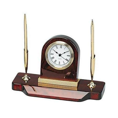 Leeber 15134 Wood Desk, Clock & 2 Pens Set - image 1 of 1