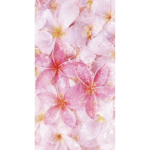 No Slip Mat by Versatraction Kahuna Grip Pastel Flowers Shower Mat