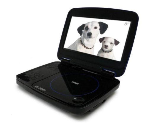 Rca DRC99380U 8 inch Portable Dvd Player With Usb & Sd Card Slot
