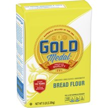 Flours & Meals: Gold Medal Unbleached Bread Flour