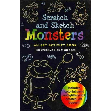 Monsters Scratch & Sketch