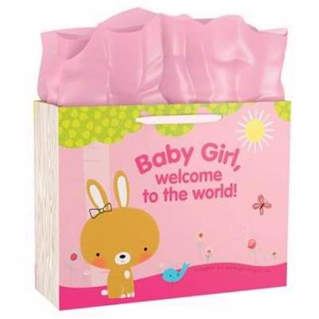 Gift Bag-Specialty-Baby Girl Welcome To The World!-Psalm