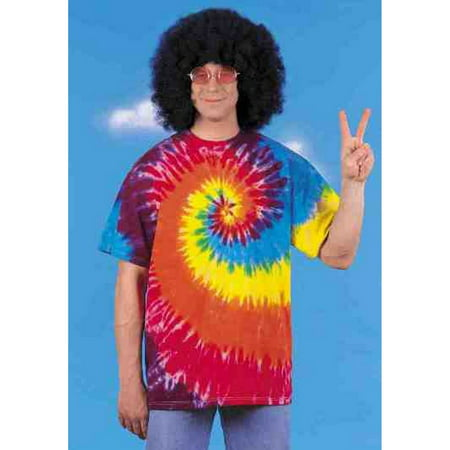 Rasta Tie-dye T-shirt Adult Halloween Costume](Rasta Woman Halloween Costume)