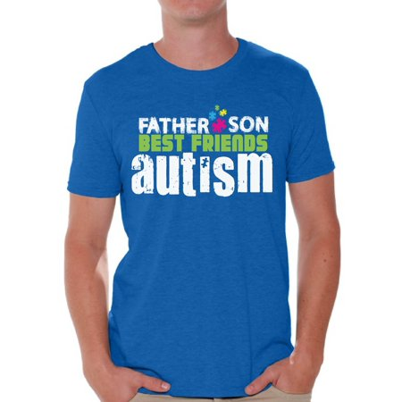 Awkward Styles Father Son Best Friends Autism Tshirt for Men Autism Shirts Autism Awareness T Shirt Autism Puzzle Tshirts Autism Awareness Gifts Father Son Autism Shirt Autistic Pride Gifts for