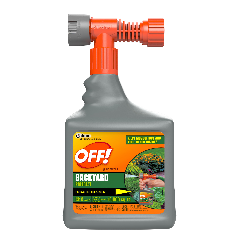 OFF! Bug Control Backyard Pretreat 32 Ounces