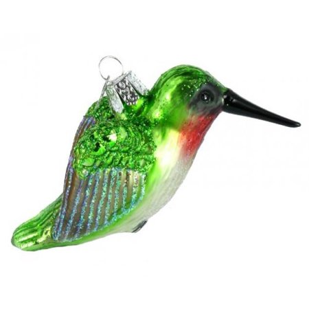 Old World Christmas Hummingbird Glass Blown Ornament