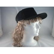 BILLY RAY HAT mens bob wig mullet blonde halloween costume funny cap trucker