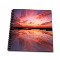 3dRose New Jersey, Cape May. Sunset reflection on beach - US31 BJA0005 - Jaynes Gallery - Mini Notepad, 4 by 4-inch