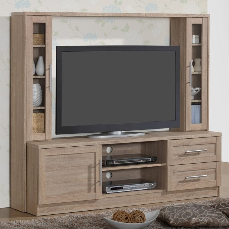 "Techni Mobili 63"" Entertainment Center in Sand"