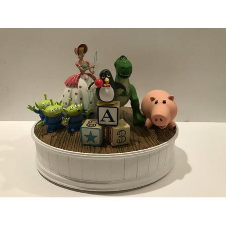 Disney Toy Story Friends Rex Bo Peep Wheezy Hamm Aliens LGM Figurine Statue New (Little Bo Peep Toy Story)