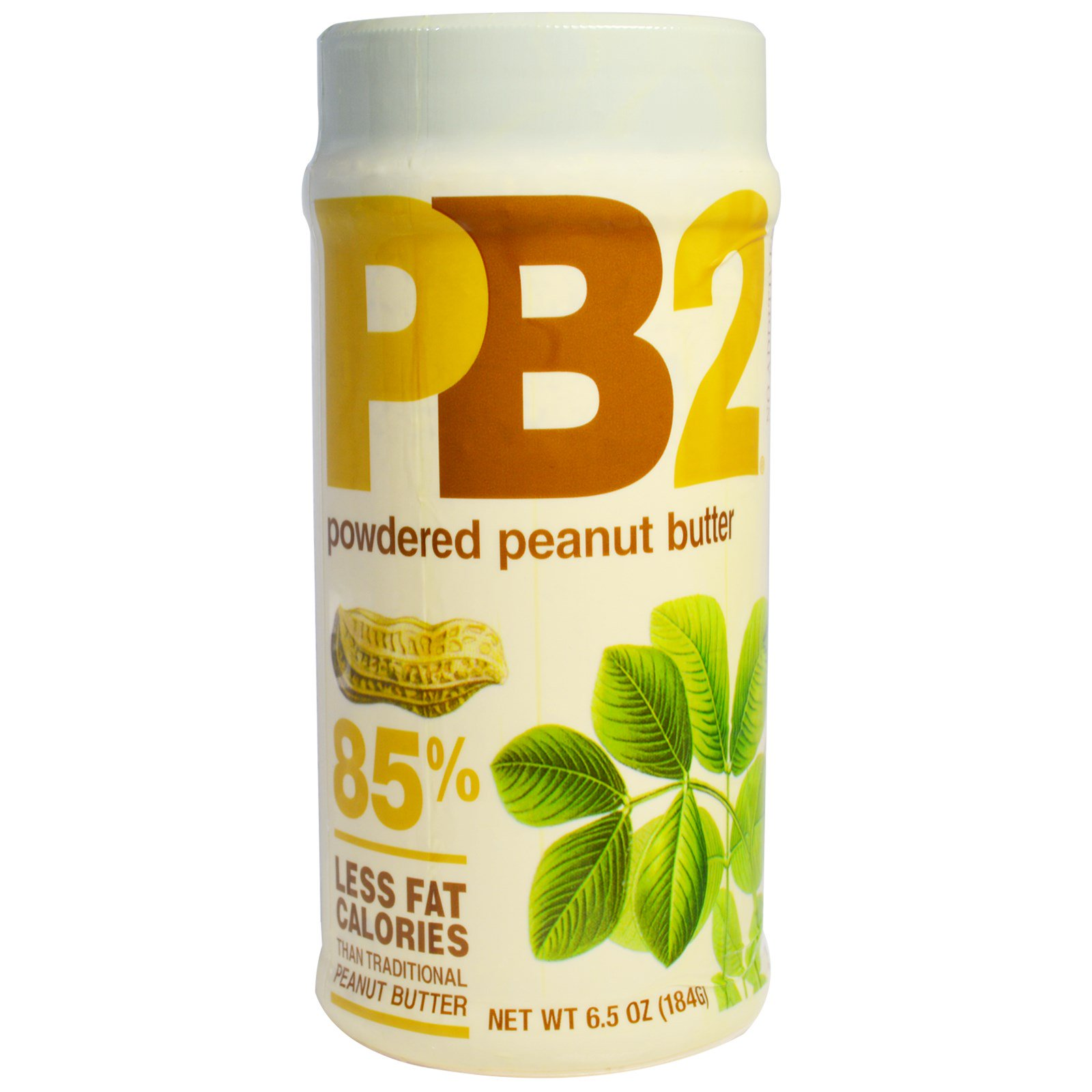 Bell Plantation, PB2, Powdered Peanut Butter, 6.5 oz (pack of 12)
