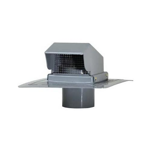 CMI PRCS4LG Plastic Roof Cap with Stem 4 In. Light Gray