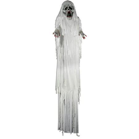 12' Ghost Bride Prop](Flying Ghost Halloween Prop)