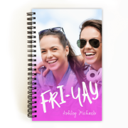 Personalized Back To School 5 x 8 Notebook - Unique Style