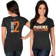 Eric Bledsoe Phoenix Suns Majestic Women's Name & Number V-Neck T-Shirt - Black