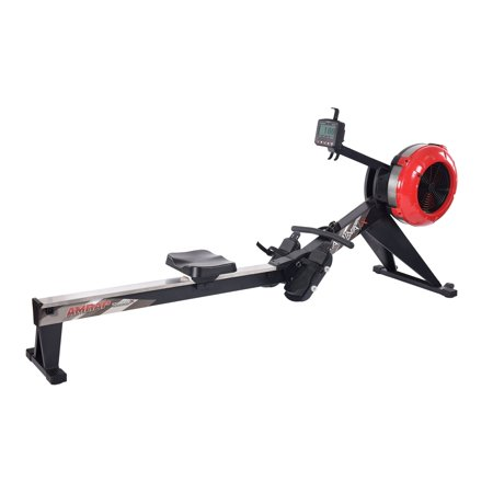 Stamina  X AMRAP (As Many Reps As Possible) Air Rowing Machine - Red