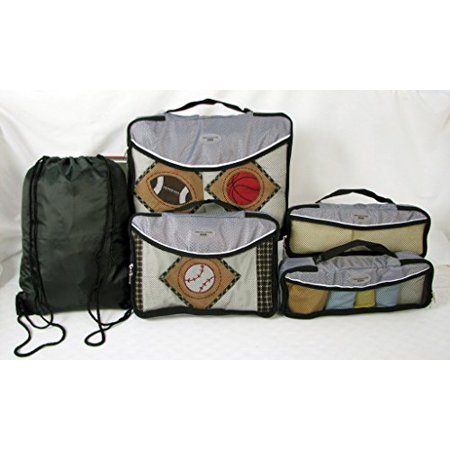 Soho Designs Travel Orgainzers With Laundry Bag 5 Pcs Set   Silver Gray  Buy Direct From The Manufacturer With Best Price
