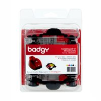 Evolis 100-Pack Consumable Prints Compatible with Badgy Basic, Multicolor
