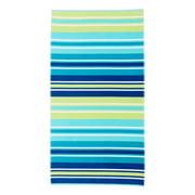 "Better Homes & Gardens 100% Cotton Cool Stripe Oversized Beach Towel, 38"" x 72"""