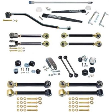 1997 JEEP WRANGLER (TJ) Currie Johnny Joint 4 inch Suspension Lift Kit with Antirock and Double Adjustable