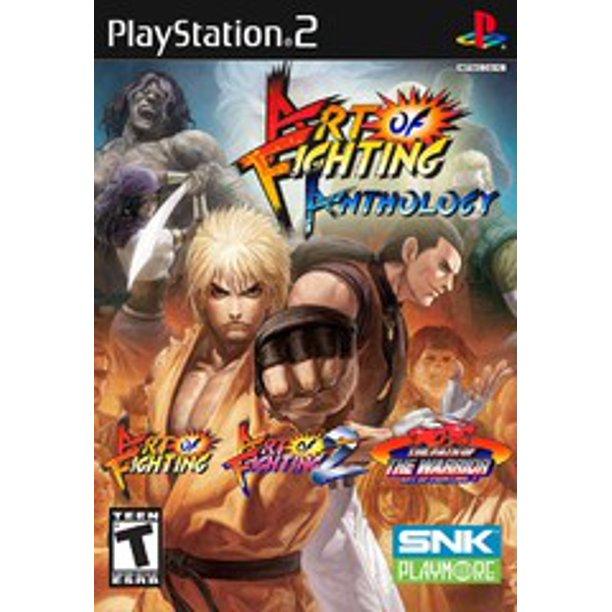 Art Of Fighting Anthology Ps2 Playstation 2 Refurbished Walmart Com Walmart Com