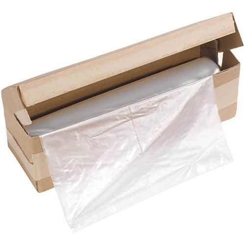 HSM of America - Shredder Bags, 34 Gallon Capacity - 100/Roll
