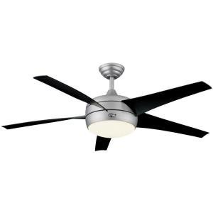 Hampton bay 54 in windward ii brushed steel ceiling fan single hampton bay 54 in windward ii brushed steel ceiling fan single light ceiling fan aloadofball Images