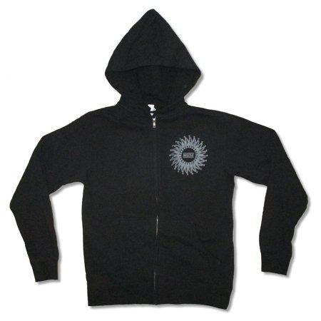 Muse Spiral Logo Black Zip Up Sweatshirt