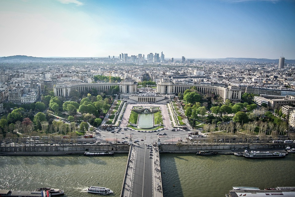 Framed Art For Your Wall France View Panorama City