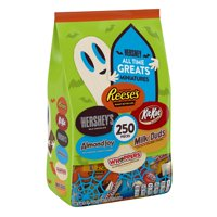 Hershey's, Halloween All Time Greats Miniatures Assorted Chocolate Candy, 250 Pieces, 81.4 Oz