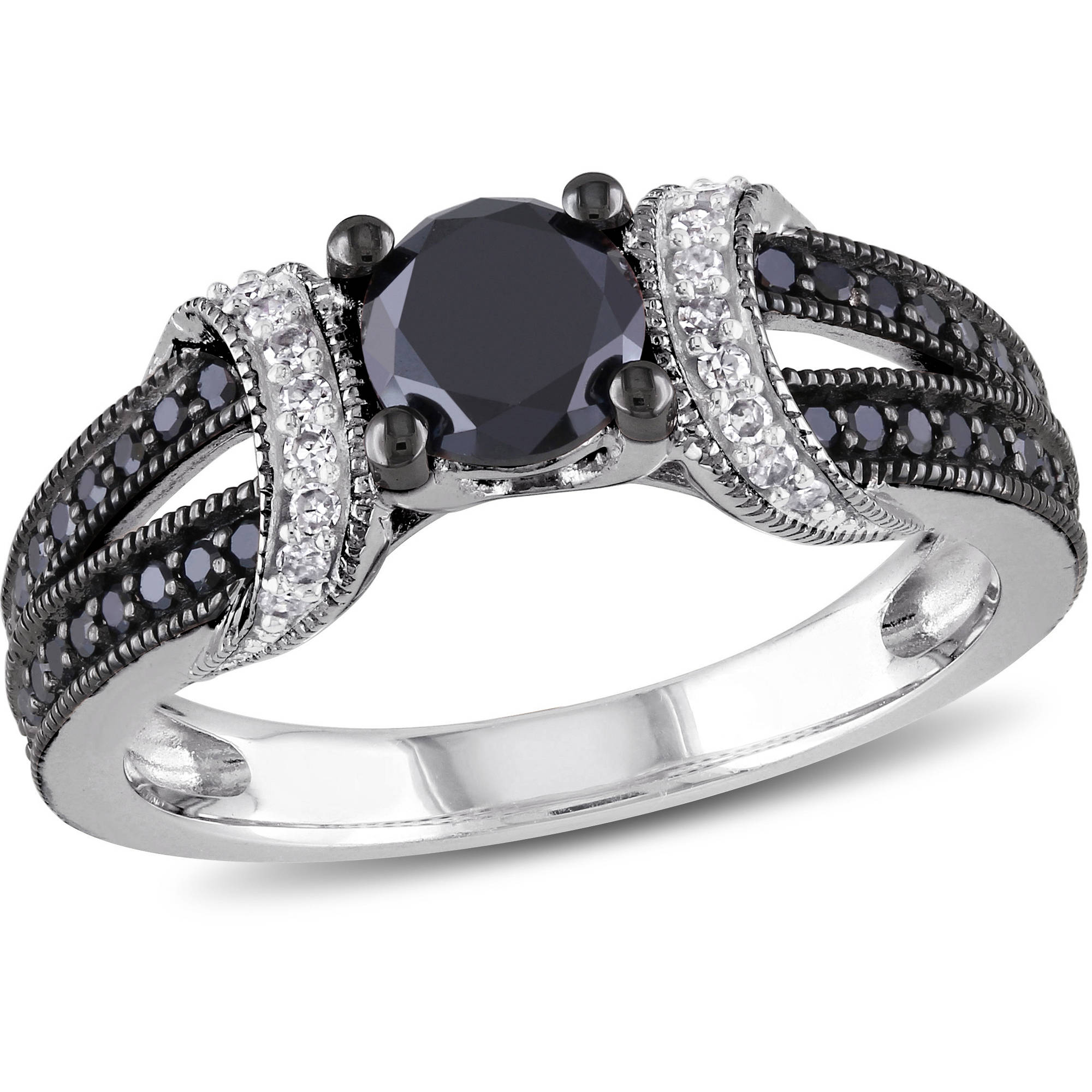 rings walmartcom - Womens Black Wedding Rings
