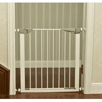 Zimtown Baby Safety Gate Door Metal Walk Thru Pet Dog Cat Fence Child Toddler