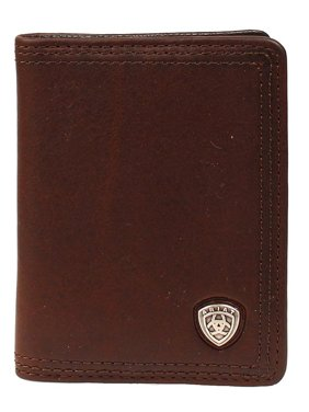 Ariat Accessories Men's Bfold Shield Wallet BROWN O/S