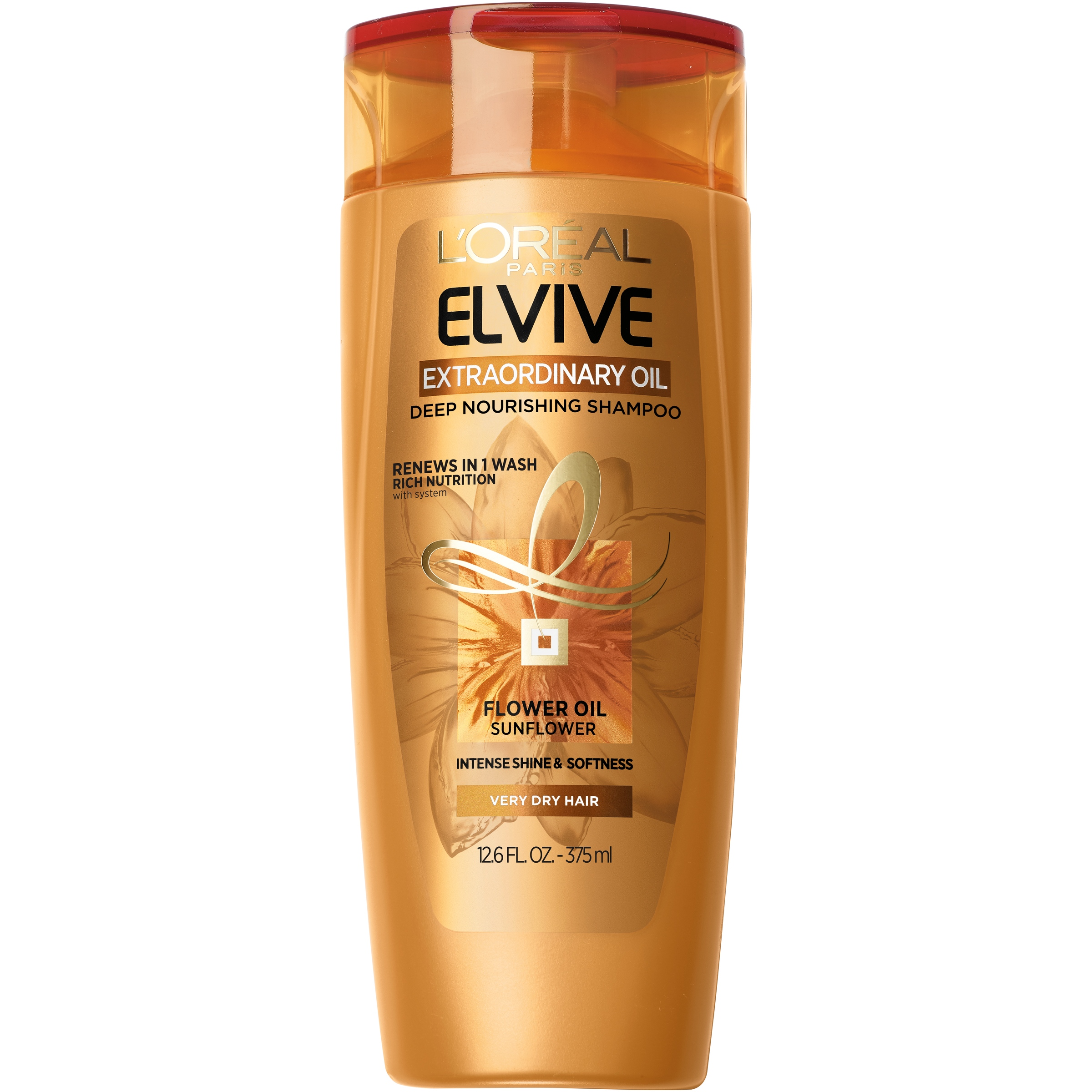(2 Pack) L'Oreal Paris Elvive Extraordinary Oil Deep Nourishing Shampoo 12.6 fl. oz. Bottle