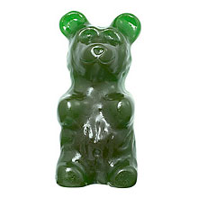 World's Largest Gummy Bear - Sour Green: 5 LBS