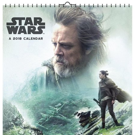 Star Wars Episode VIII Deluxe Wall Calendar, Star Wars by Trends International