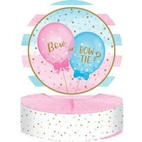 Creative Converting Gender Reveal Balloons Centerpiece