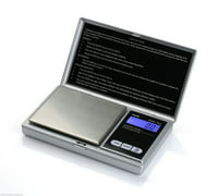 American Weigh Scales AWS-1KG Digital Pocket Scale Silver