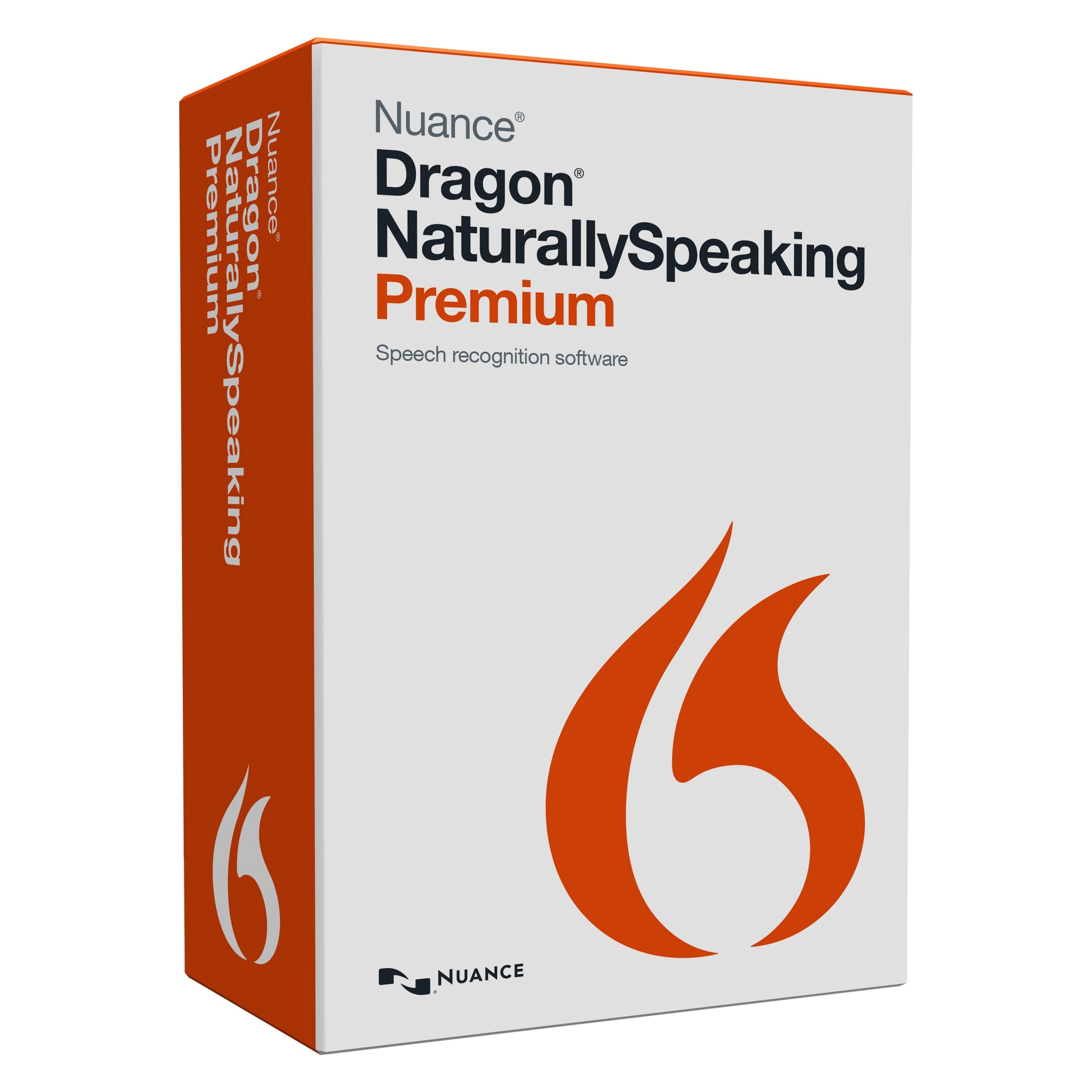 NUANCE Dragon Naturallyspeaking V.13.0 Premium - 1 User -...